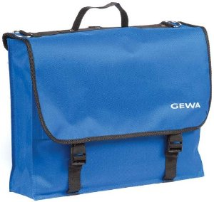 Blue Sheet Music Carrying Bag by Gewa